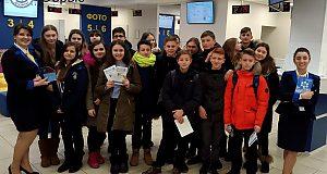 Екскурсія школярів доПаспортного сервісу